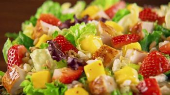 Wendy's Strawberry Mango Chicken Salad TV Spot, 'Perfect Salads' - Thumbnail 10
