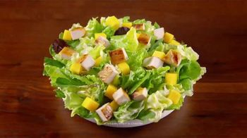 Wendy's Strawberry Mango Chicken Salad TV Spot, 'Perfect Salads' - Thumbnail 8