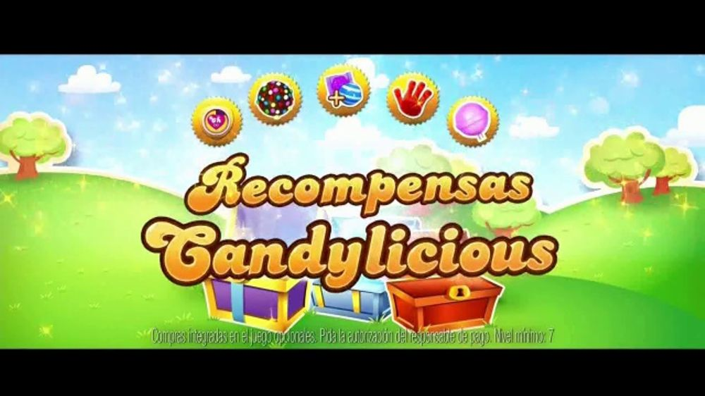 Candy Crush Saga TV Commercial, 'Dulces recompensas'