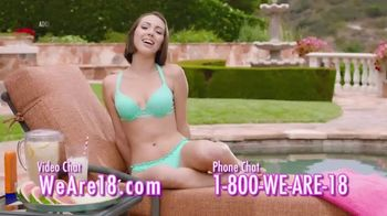We Are 18 TV Spot, 'Long Day at the Pool'