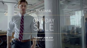 JoS. A. Bank One-Day Sale TV Spot, 'Wool Suits and Shirts' - Thumbnail 1