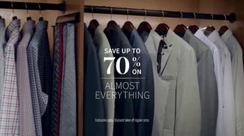 JoS. A. Bank One-Day Sale TV Spot, 'Wool Suits and Shirts' - Thumbnail 2