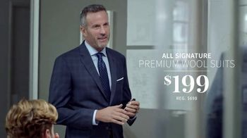 JoS. A. Bank One-Day Sale TV Spot, 'Wool Suits and Shirts' - Thumbnail 3