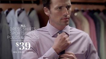 JoS. A. Bank One-Day Sale TV Spot, 'Wool Suits and Shirts' - Thumbnail 4