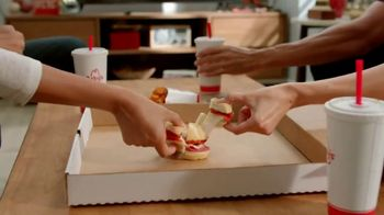 Arby's Pizza Slider TV Spot, 'Any Big Game' - 121 commercial airings