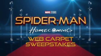 Radio Disney Spider-Man: Homecoming Web Carpet Sweepstakes TV Spot, 'Code' - 28 commercial airings