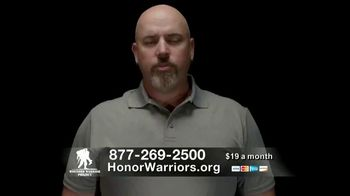 Wounded Warrior Project TV Spot, 'Again and Again' Featuring Trace Adkins