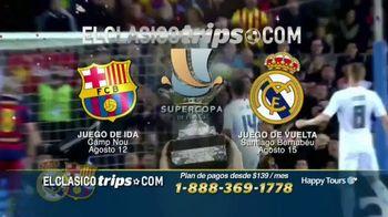 El Clásico Trips TV Spot, 'El Clásico: Supercopa de España' [Spanish] - 6 commercial airings