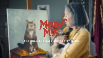Meow Mix Bistro Recipes TV Spot, 'Painting' - Thumbnail 7