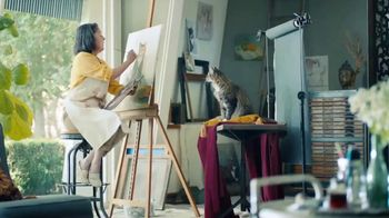 Meow Mix Bistro Recipes TV Spot, 'Painting' - Thumbnail 2