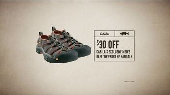 Cabela's Father's Day Sale TV Spot, 'Exclusive Keen Sandals' - Thumbnail 7