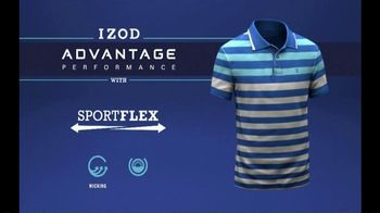 Izod Advantage Polo TV Spot, 'Polo of the Future' Ft. Bob Bryan, Mike Bryan - Thumbnail 10