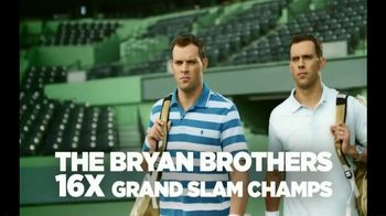 Izod Advantage Polo TV Spot, 'Polo of the Future' Ft. Bob Bryan, Mike Bryan - Thumbnail 2