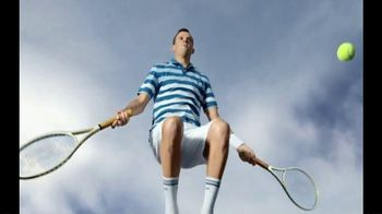 Izod Advantage Polo TV Spot, 'Polo of the Future' Ft. Bob Bryan, Mike Bryan - Thumbnail 6