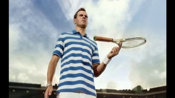 Izod Advantage Polo TV Spot, 'Polo of the Future' Ft. Bob Bryan, Mike Bryan