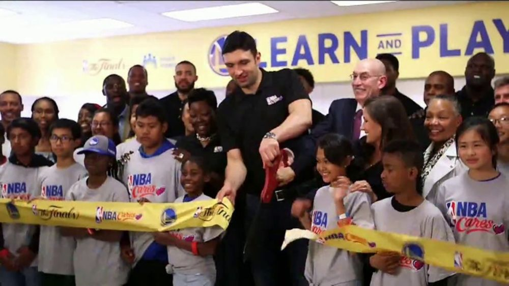 NBA Cares TV Commercial, 'NBA Finals Legacy Project'