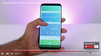 Samsung Galaxy S8 TV Spot, 'Tech Reviewers' - Thumbnail 4