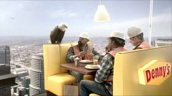 Denny's on Demand TV Spot, 'Lunch 70 Stories Up? No Problem' - 1425 commercial airings