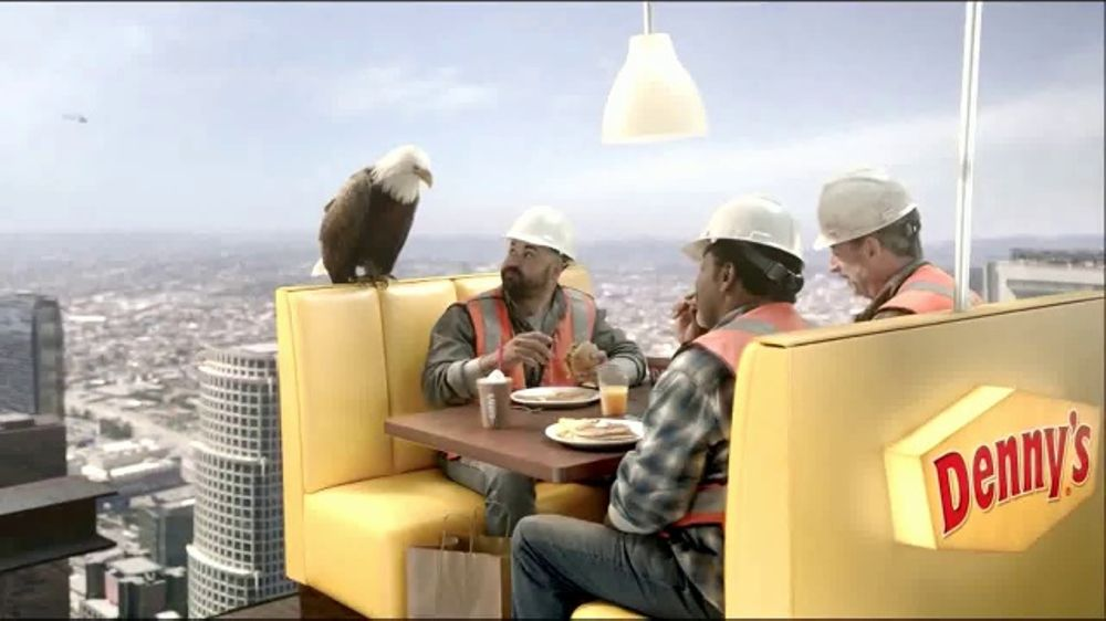 Denny's on Demand TV Commercial, 'Lunch 70 Stories Up? No Problem'