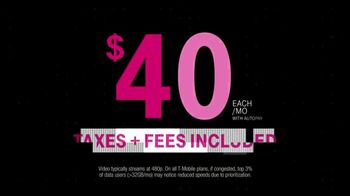 T-Mobile Unlimited Data TV Spot, '4 Unlimited Lines For $40 Each' - Thumbnail 7