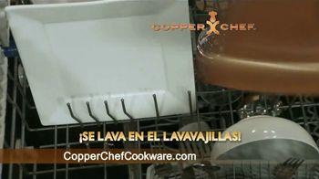 Copper Chef Fry Pan TV Spot, 'Sartén versátil' [Spanish] - Thumbnail 9