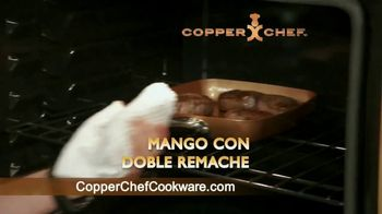 Copper Chef Fry Pan TV Spot, 'Sartén versátil' [Spanish] - Thumbnail 5