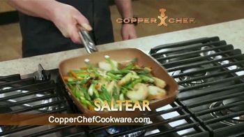 Copper Chef Fry Pan TV Spot, 'Sartén versátil' [Spanish] - Thumbnail 7