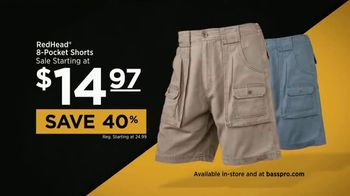 Bass Pro Shops Father's Day Sale TV Spot, 'Shorts and Patio Grills' - Thumbnail 7
