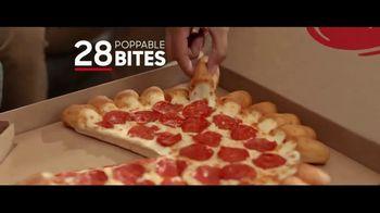Pizza Hut Cheesy Bites Pizza TV Spot, 'Pizza Man' - Thumbnail 3