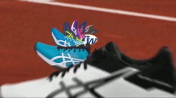 Tennis Warehouse ASICS Solution Shoe Sale TV Spot, 'Break the Speed Limit' - Thumbnail 1