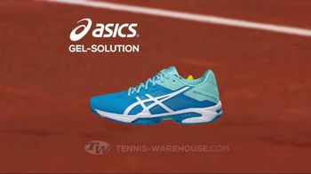 Tennis Warehouse ASICS Solution Shoe Sale TV Spot, 'Break the Speed Limit' - Thumbnail 2