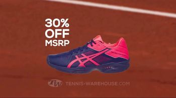 Tennis Warehouse ASICS Solution Shoe Sale TV Spot, 'Break the Speed Limit' - Thumbnail 3