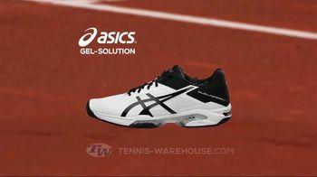 Tennis Warehouse ASICS Solution Shoe Sale TV Spot, 'Break the Speed Limit' - Thumbnail 4