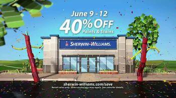 Sherwin-Williams 4-Day Super Sale TV Spot, 'June 2017' - Thumbnail 4