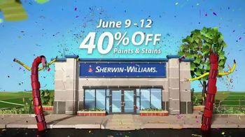 Sherwin-Williams 4-Day Super Sale TV Spot, 'June 2017' - Thumbnail 2