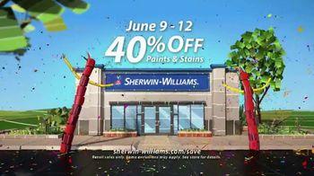 Sherwin-Williams 4-Day Super Sale TV Spot, 'June 2017' - Thumbnail 3