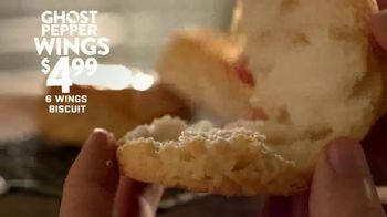 Popeyes Ghost Pepper Wings TV Spot, 'Taste the Mystery' - Thumbnail 8