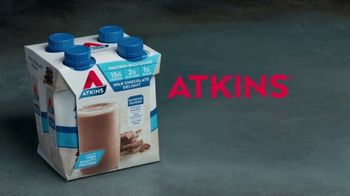 Atkins Milk Chocolate Delight Shake TV Spot, 'Rob Lowe's Favorite Snack' - Thumbnail 9