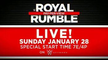 WWE Network TV Spot, '2018 Royal Rumble' - Thumbnail 10