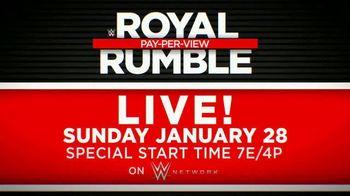 WWE Network TV Spot, '2018 Royal Rumble' - Thumbnail 9
