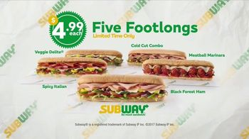 Subway $4.99 Footlongs TV Spot, 'Happiness' - Thumbnail 10