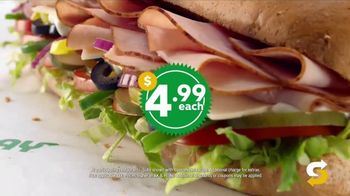 Subway $4.99 Footlongs TV Spot, 'Happiness' - Thumbnail 3