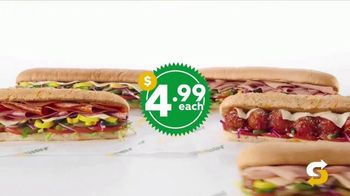 Subway $4.99 Footlongs TV Spot, 'Happiness' - Thumbnail 5
