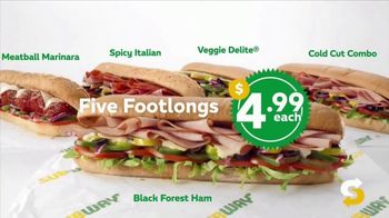 Subway $4.99 Footlongs TV Spot, 'Happiness' - Thumbnail 8