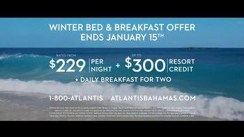 Atlantis Winter Bed & Breakfast Offer TV Spot, 'Bahamas at Heart: January' - Thumbnail 9