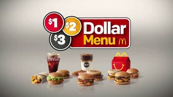 McDonald's $1 $2 $3 Dollar Menu TV Spot, 'Introducing'