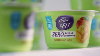 Dannon Light & Fit Greek Yogurt TV Spot, 'Girl Talk' - Thumbnail 2