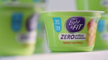 Dannon Light & Fit Greek Yogurt TV Spot, 'Girl Talk' - Thumbnail 5