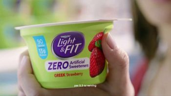 Dannon Light & Fit Greek Yogurt TV Spot, 'Girl Talk' - Thumbnail 8