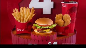 Wendy's 4 for $4 Meal TV Spot, 'How Do You 4 for $4?' - Thumbnail 10